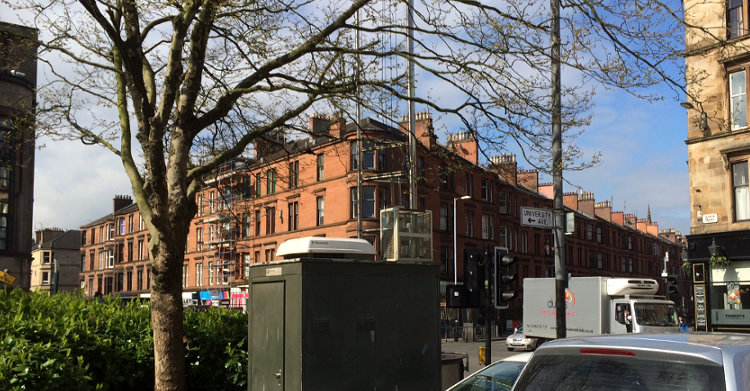 Air Quality Monitoring Station, Byres Road